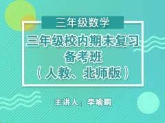 三年级校内期末复习备考班(人教、北师版)