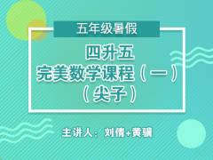 四升五完美数学课程(一)(尖子)